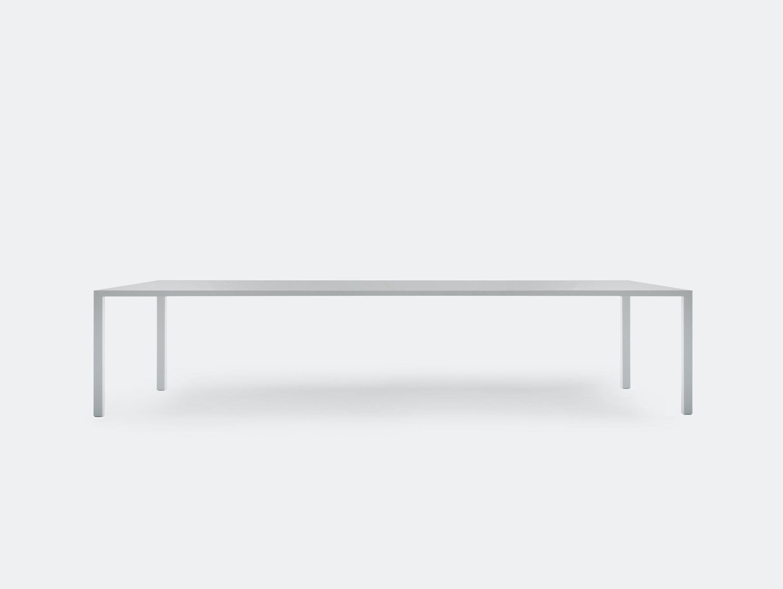 MDF Italia Tense Table System white Piergiorgio Cazzaniga
