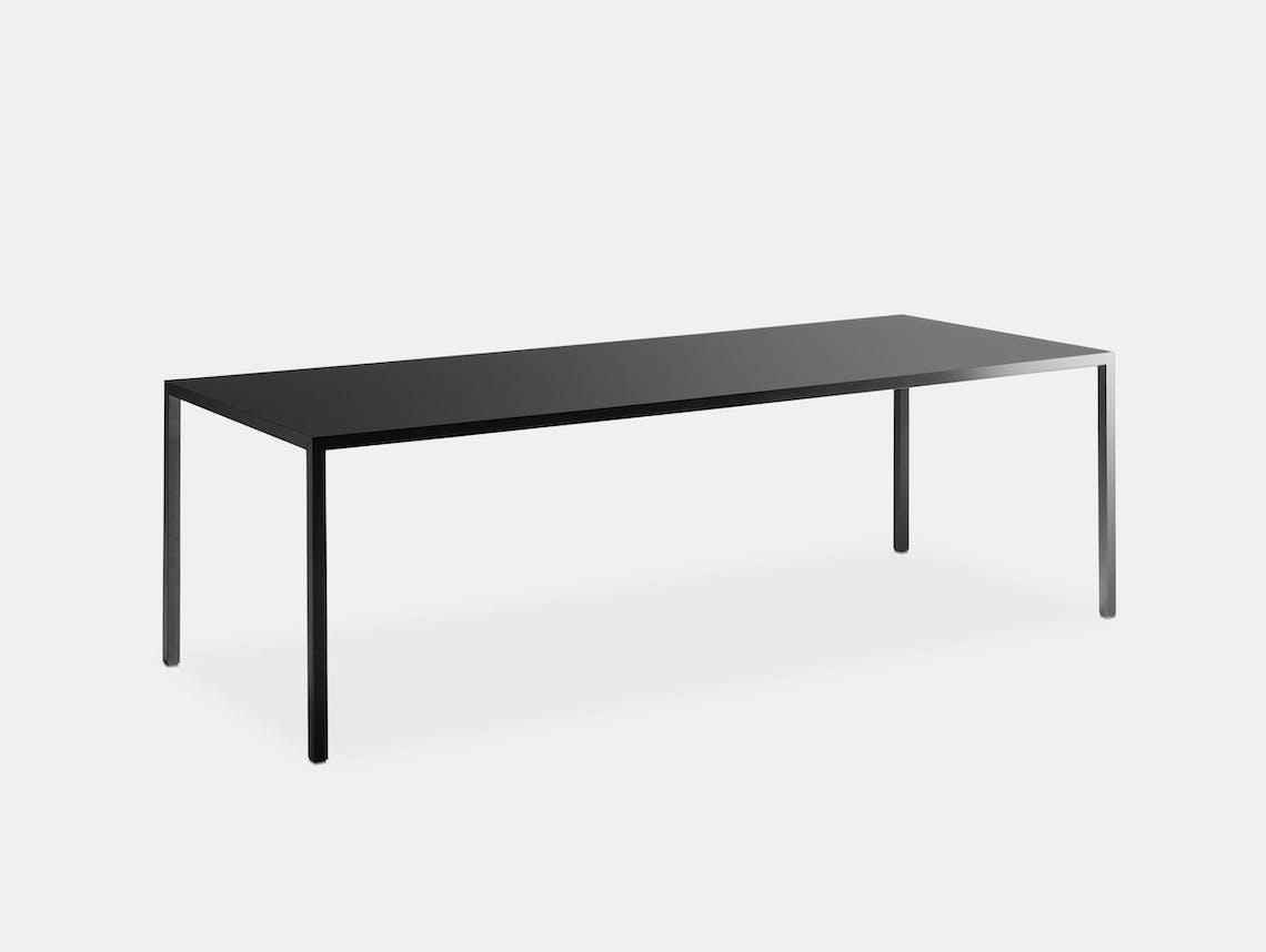 MDF Italia Tense Table black 2 Piergiorgio Cazzaniga