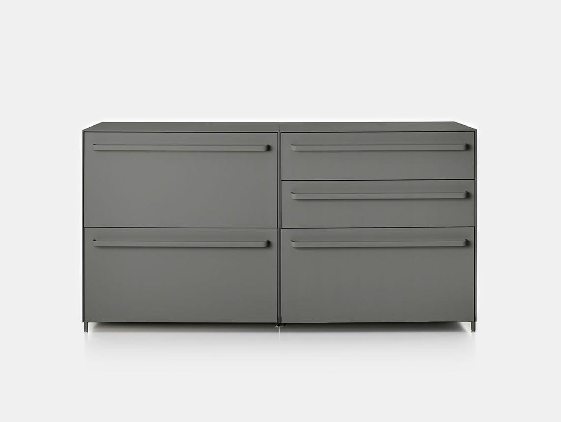 MDF Italia Handle Sideboard grey