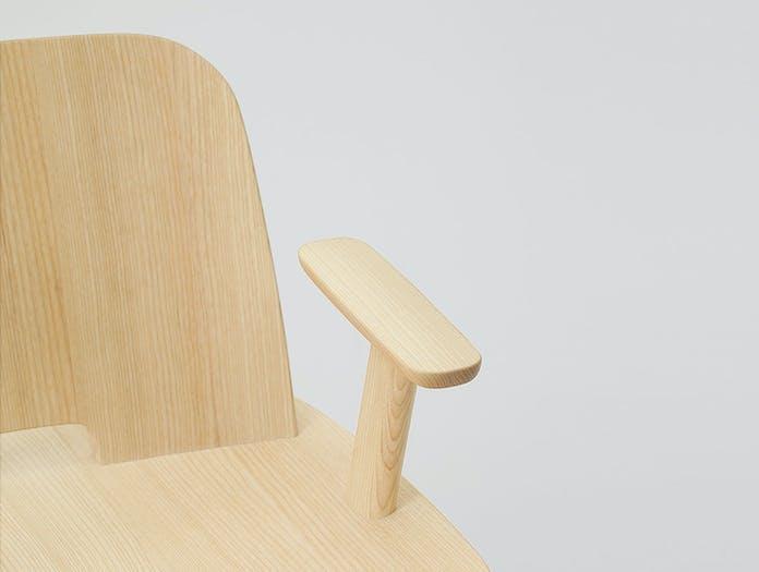 Maruni Fugu Chair Ash Detail 1 Jasper Morrison