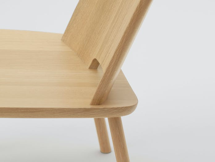 Maruni Fugu Chair Oak Detail 1 Jasper Morrison