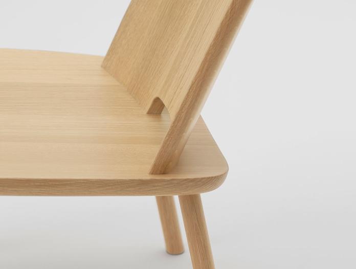 Maruni Fugu Chair Oak Detail 1 Jasper Morrison