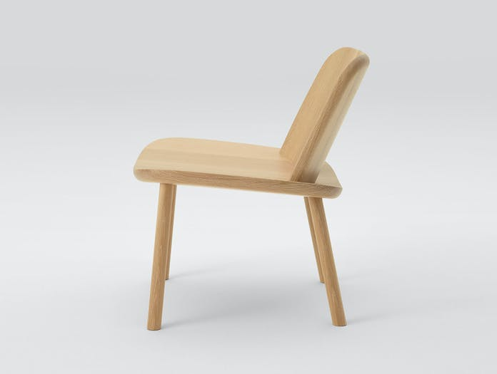 Maruni Fugu Chair Oak Side Jasper Morrison
