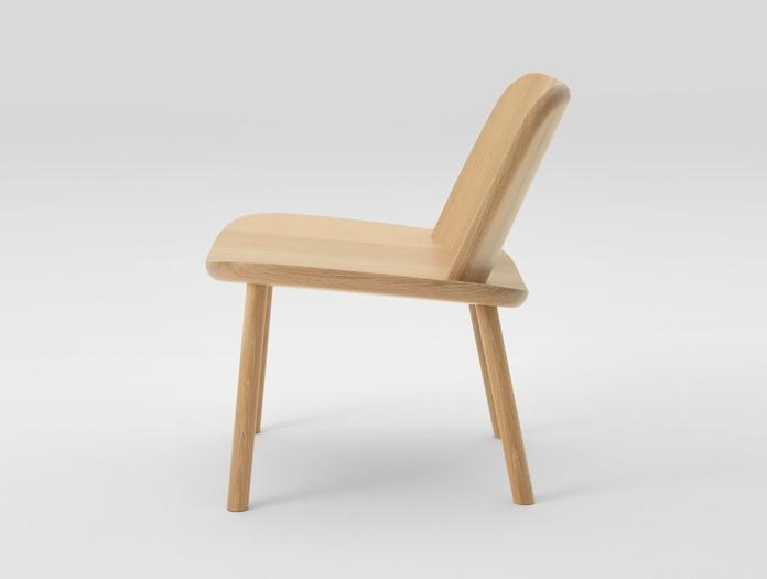 Maruni Fugu Chair Oak Side Jasper Morrison