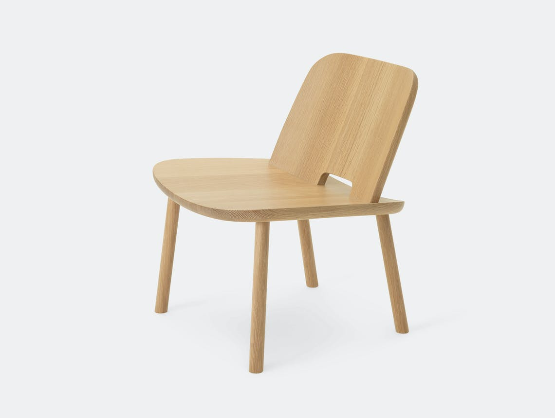 Maruni Fugu Chair Oak Without Arms Jasper Morrison
