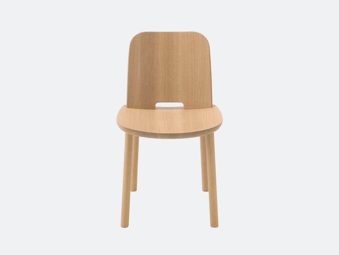 Maruni Fugu Dining Chair without arms Jasper Morrison