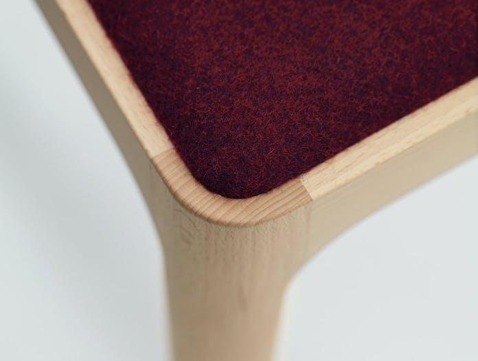Maruni HIROSHIMA dining chair joint detail