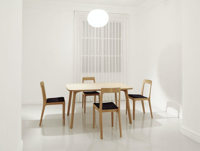 Maruni HIROSHIMA dining chairs