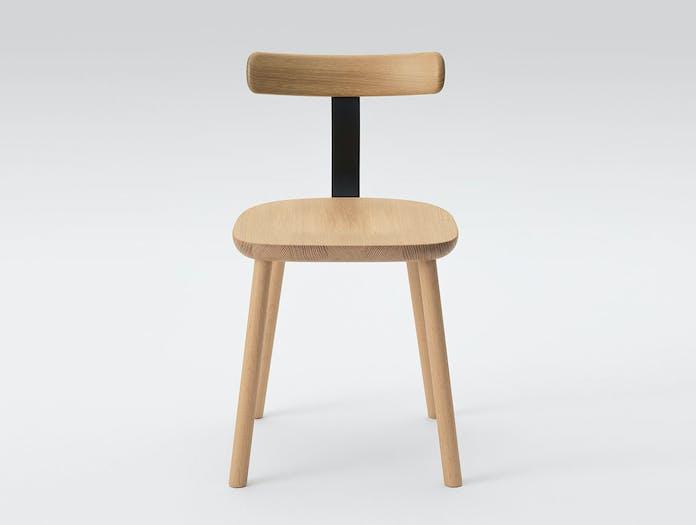 Maruni T Chair Oak Naoto Fukasawa