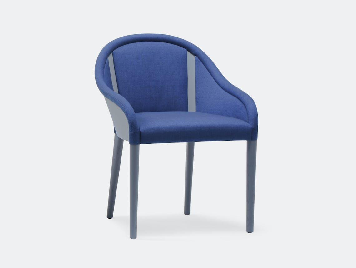 Mattiazzi Bienvenue Chair grey stained ash frame Inga Sempe