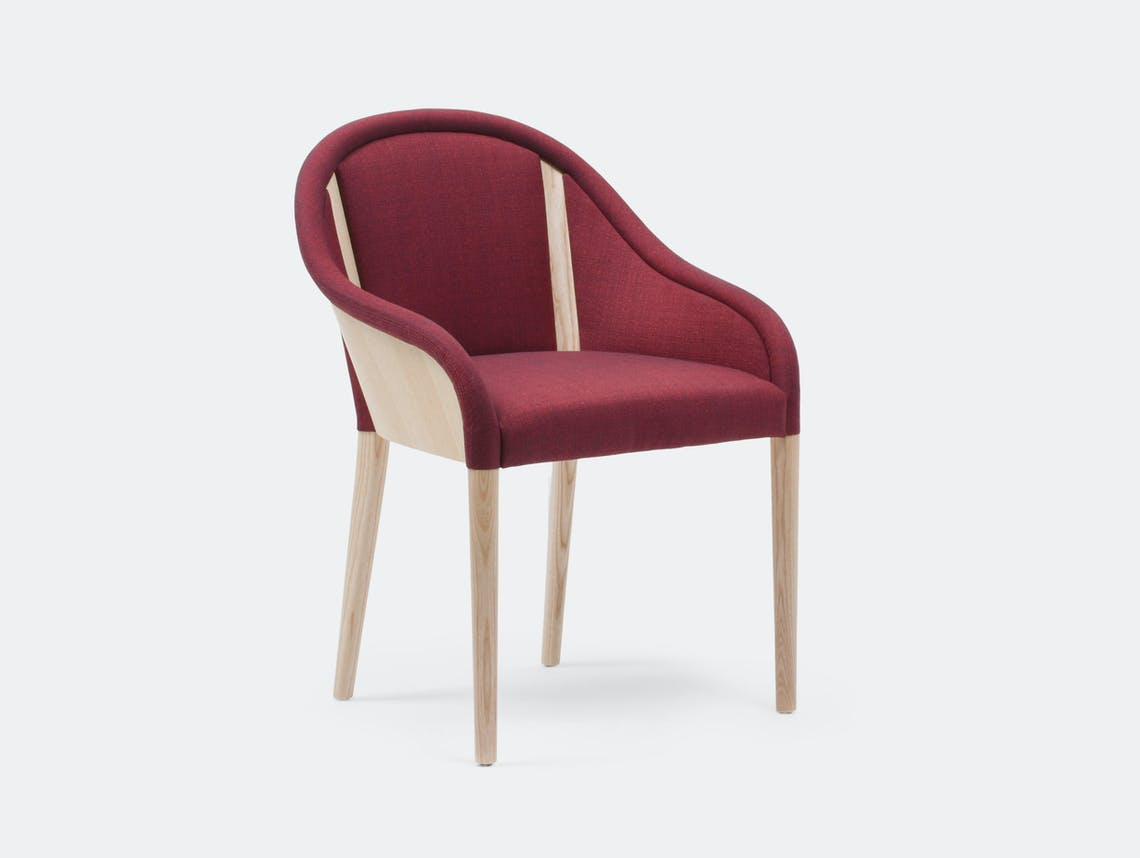 Mattiazzi Bienvenue Chair natural ash frame Inga Sempe