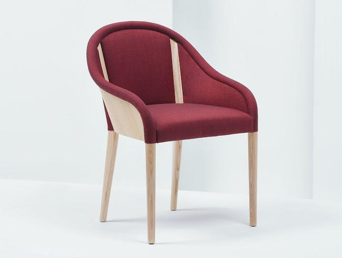 Mattiazzi Bienvenue Chair natural ash frame r Inga Sempe