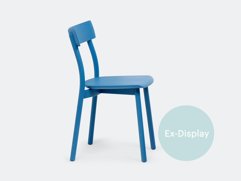 Mattiazzi Chiaro Chair blue Leon Ransmeier exd