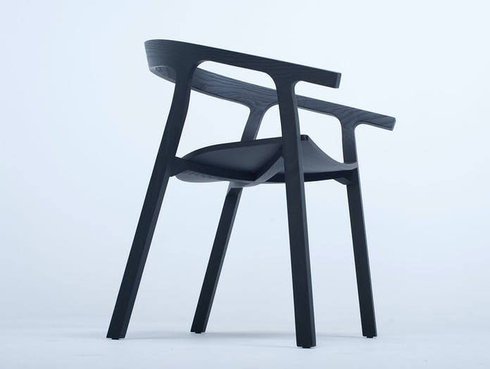 Mattiazzi He Said Chair black ash 2 Nitzan Cohen