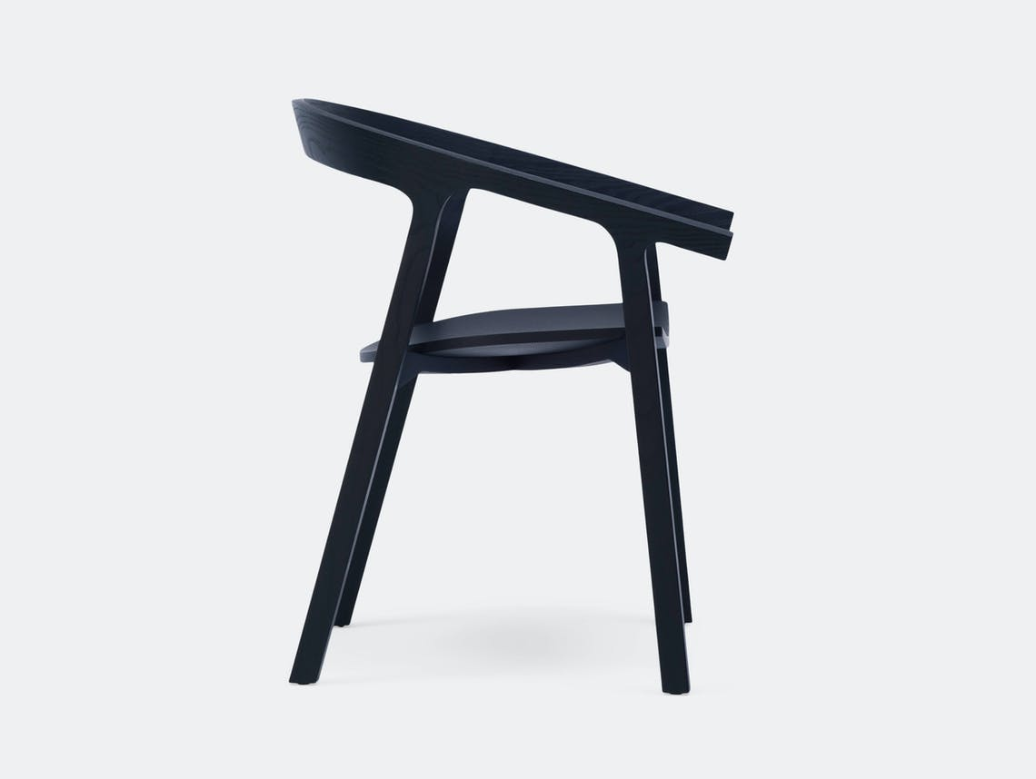 Mattiazzi He Said Chair black ash Nitzan Cohen