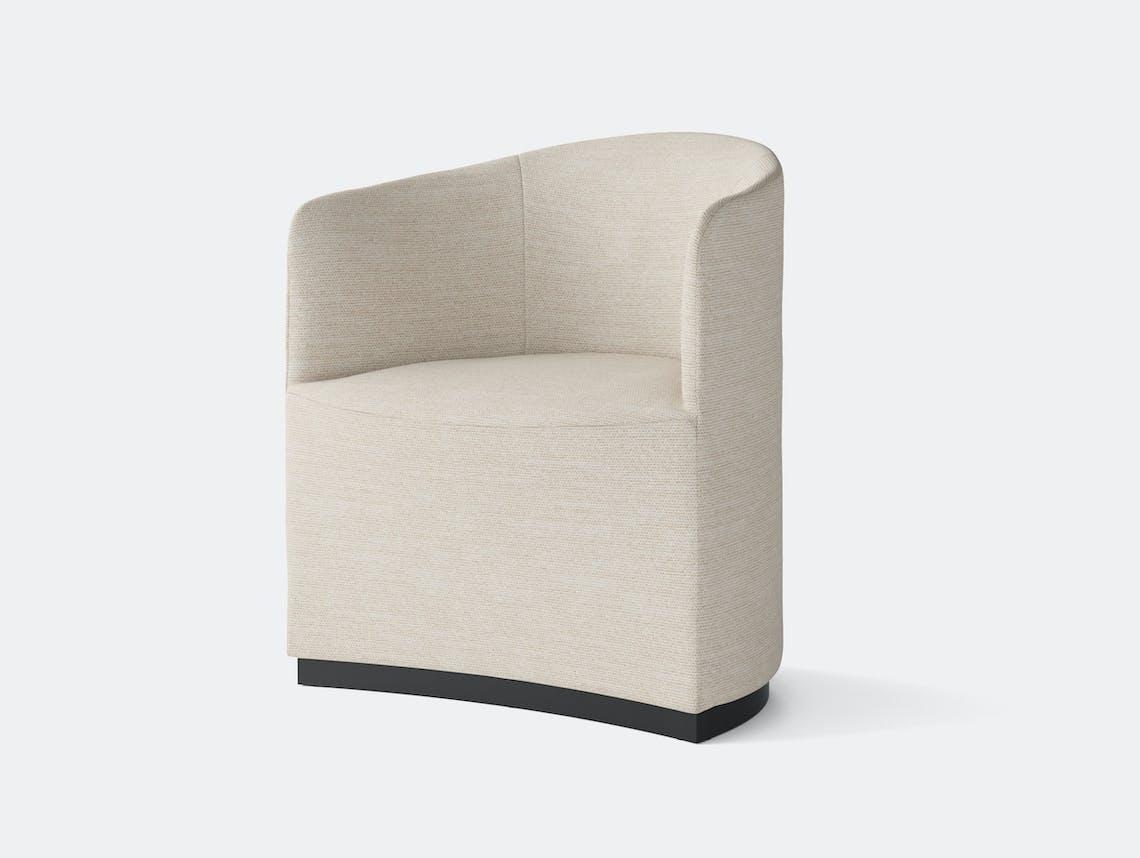 Menu Tearoom Club Chair cream fabric Nick Ross