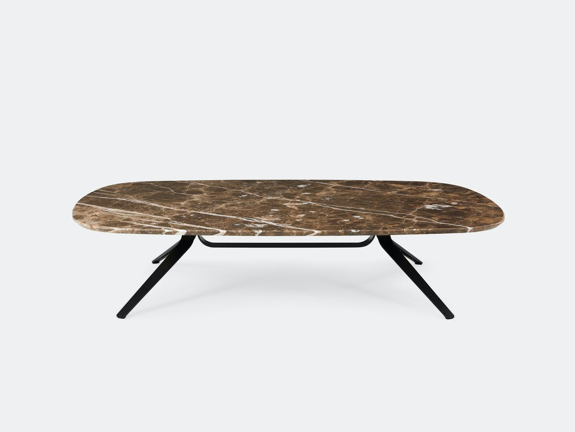 Montis Dante coffee table Emperador Marble Geert Koster