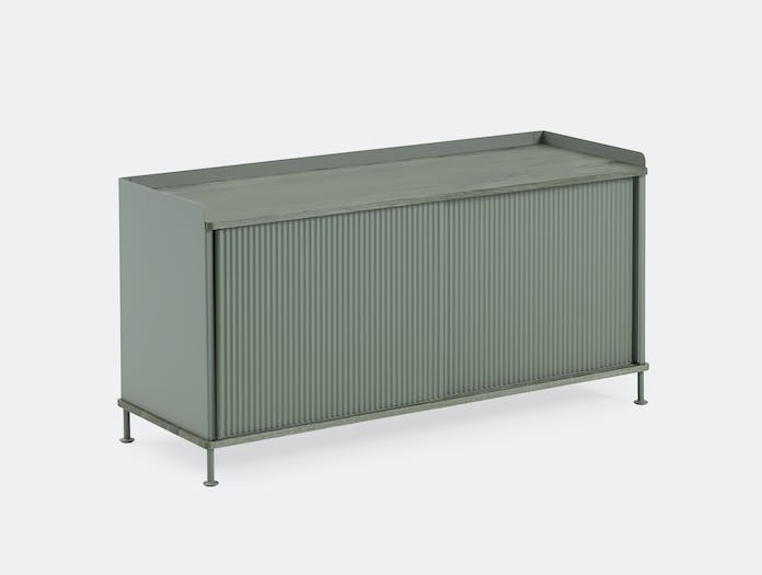 Muuto Enfold Sideboard Low Green Thomas Bentzen