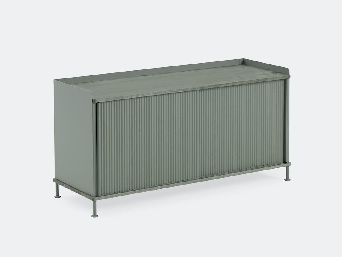 Muuto Enfold Sideboard Low Green Thomas Bentzen