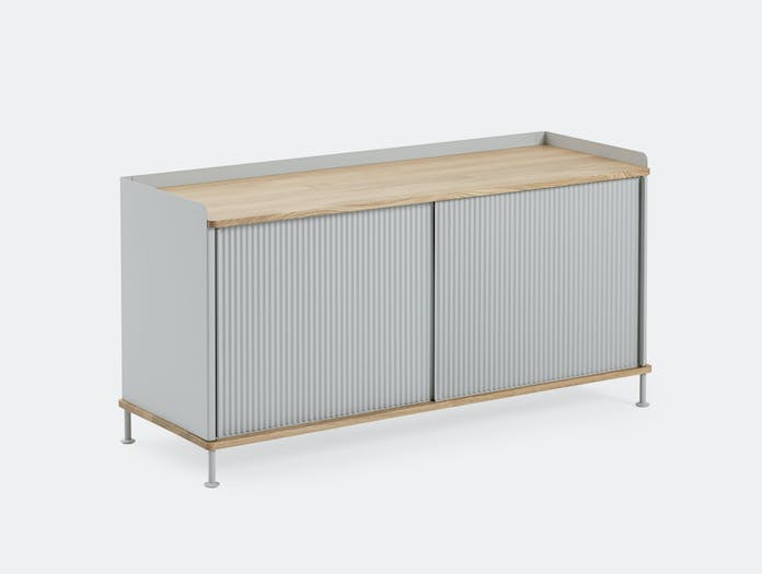 Muuto Enfold Sideboard Low Grey Oak Thomas Bentzen