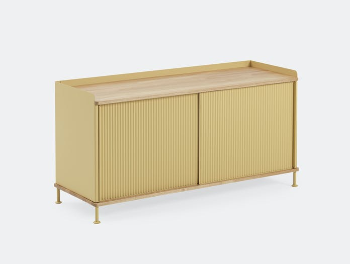 Muuto Enfold Sideboard Low Yellow Oak Thomas Bentzen