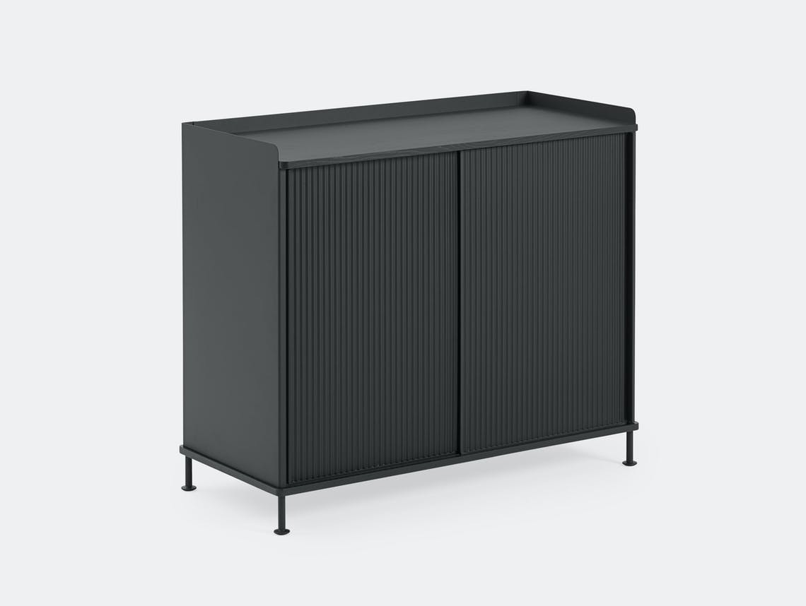 Muuto Enfold Sideboard Tall Black Thomas Bentzen