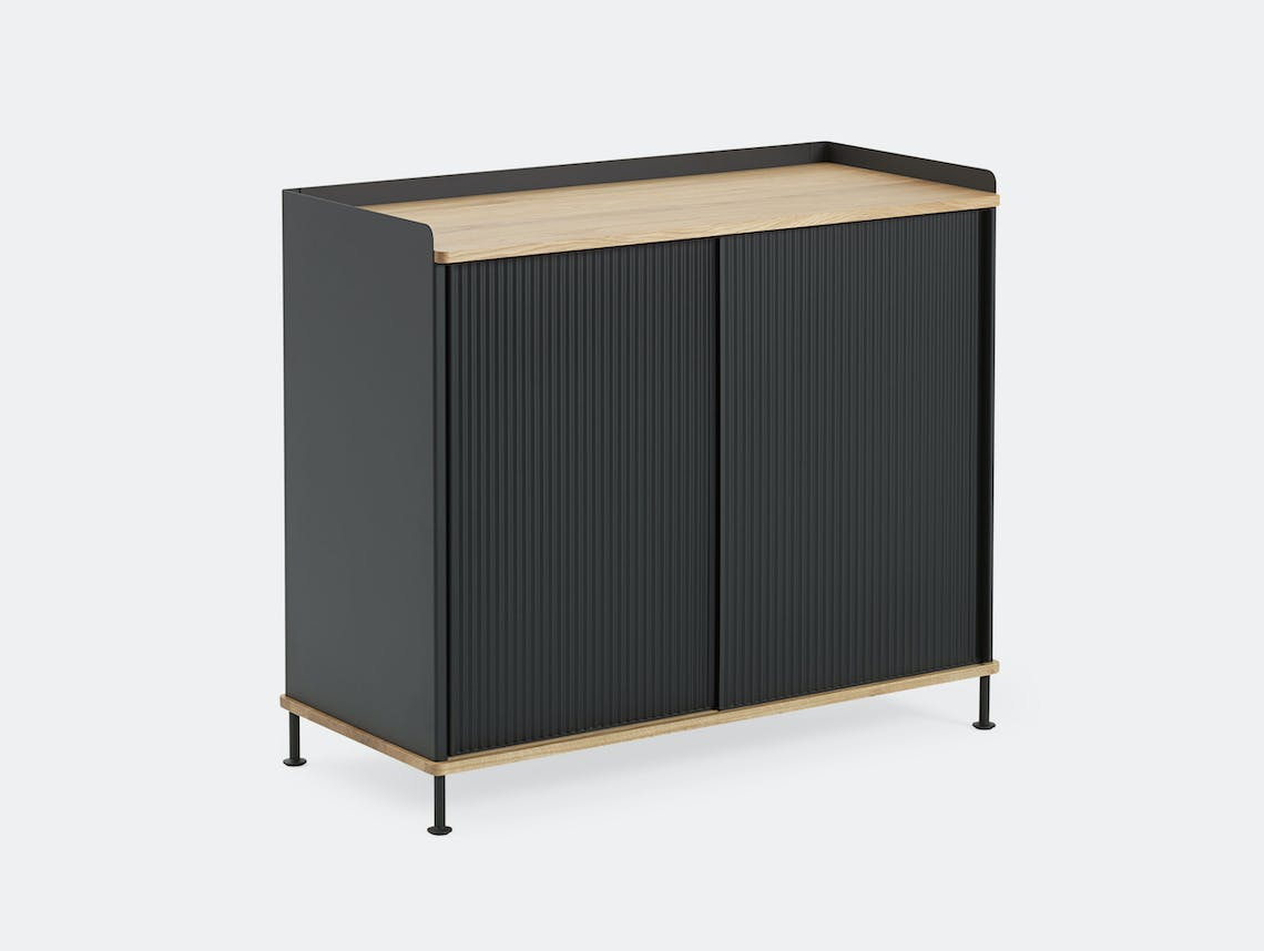 Muuto Enfold Sideboard Tall Black Oak Thomas Bentzen
