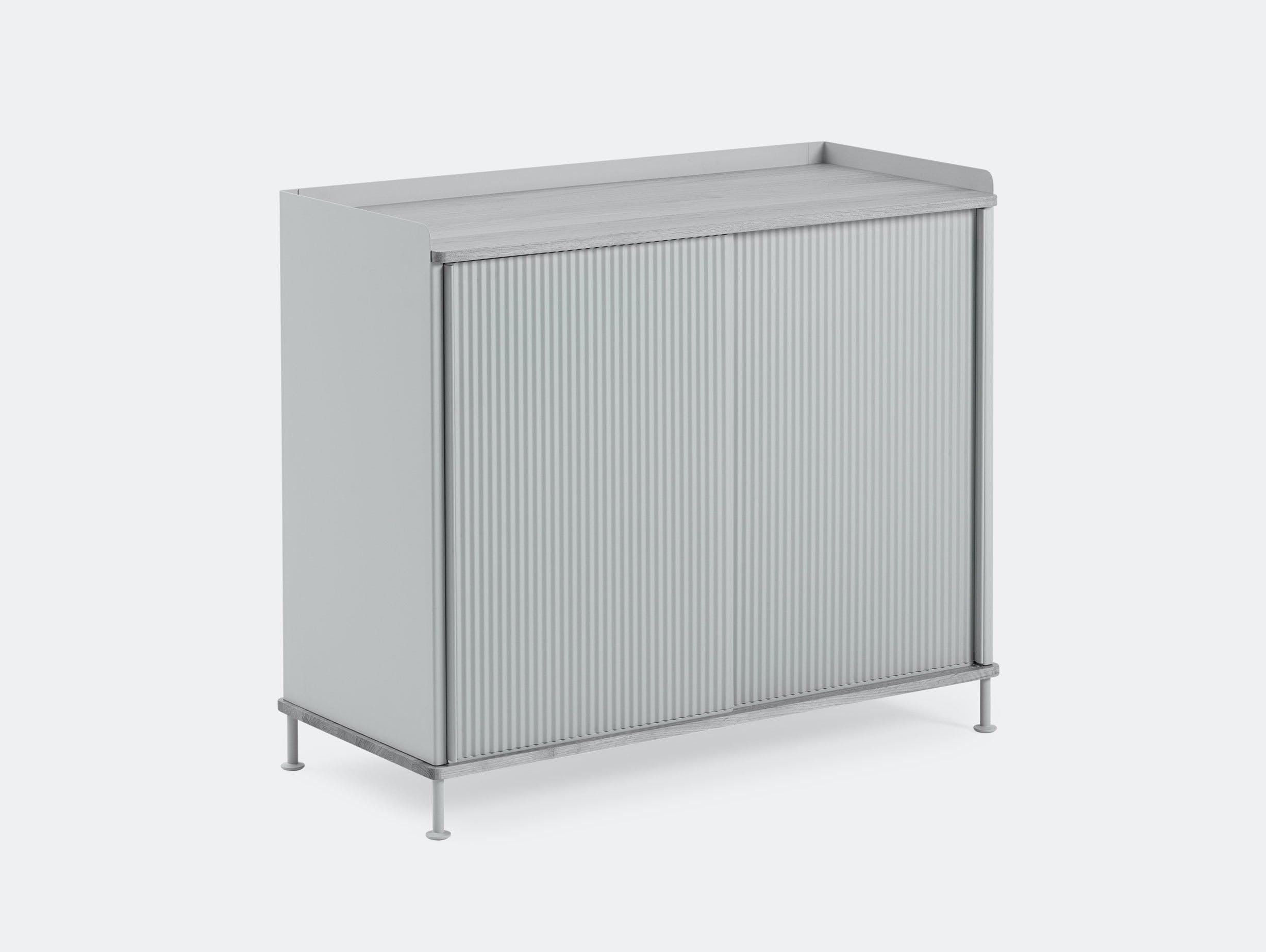 Muuto Enfold Sideboard Tall Grey Thomas Bentzen