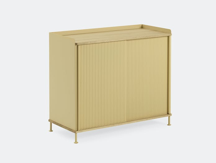 Muuto Enfold Sideboard Tall Yellow Thomas Bentzen