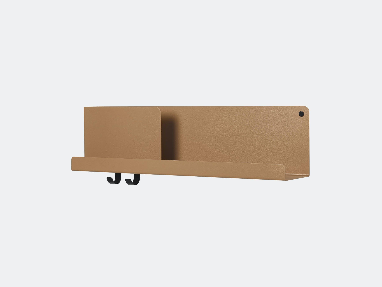 Muuto Folded shelf medium 2 light terracotta Johan van Hengel