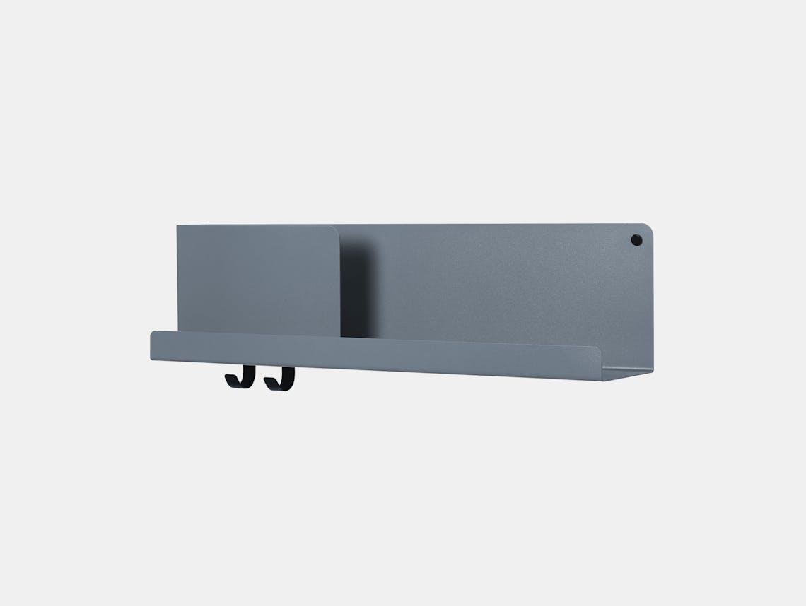 Muuto Folded shelf medium blue grey Johan van Hengel