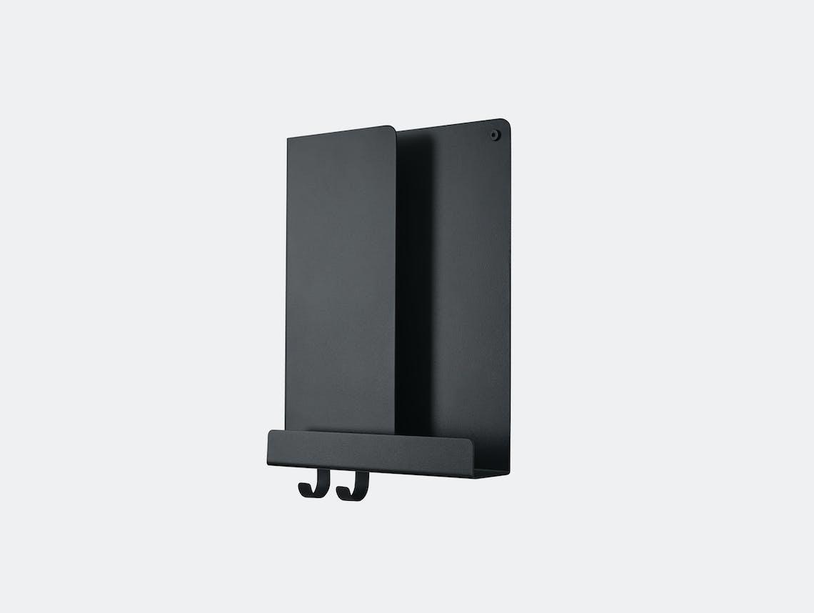 Muuto Folded shelf tall black Johan Van Hengel