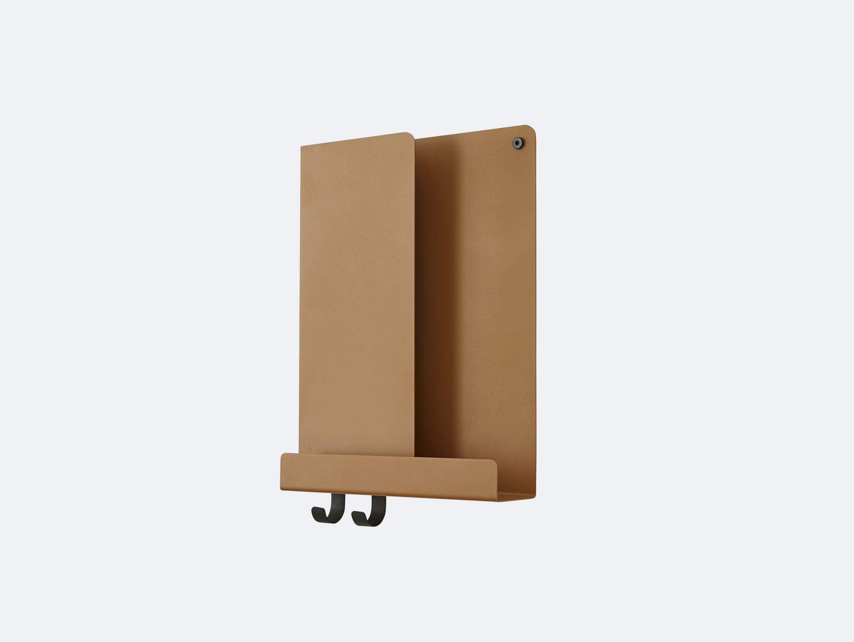 Muuto Folded shelf tall burnt orange Johan Van Hengel