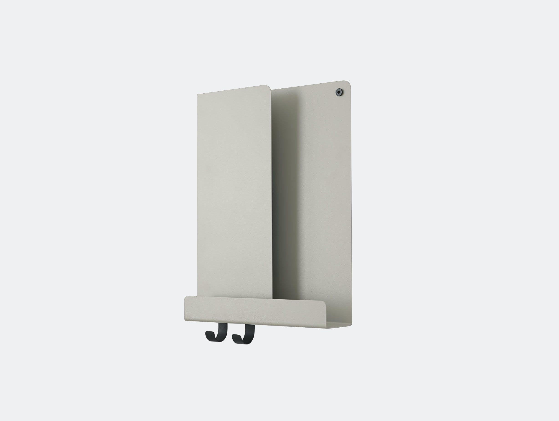 Muuto Folded shelf tall grey Johan Van Hengel