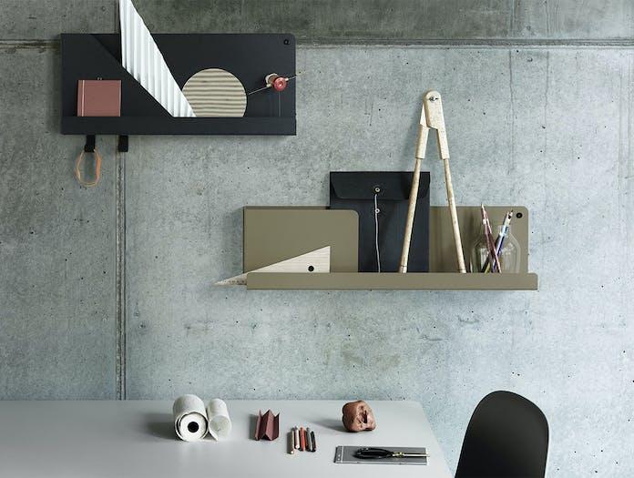 Muuto Folded Office Setting Black Olive