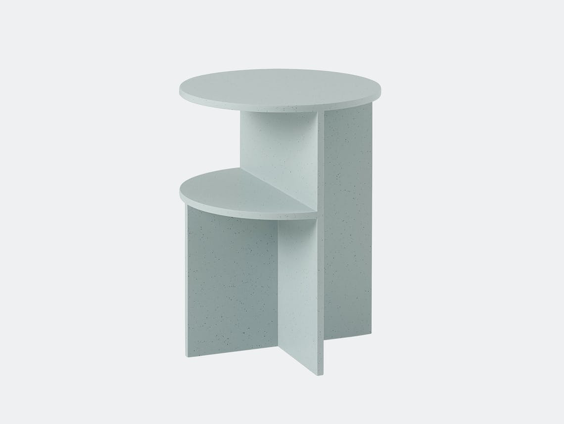 Muuto Halves Side Table sage green
