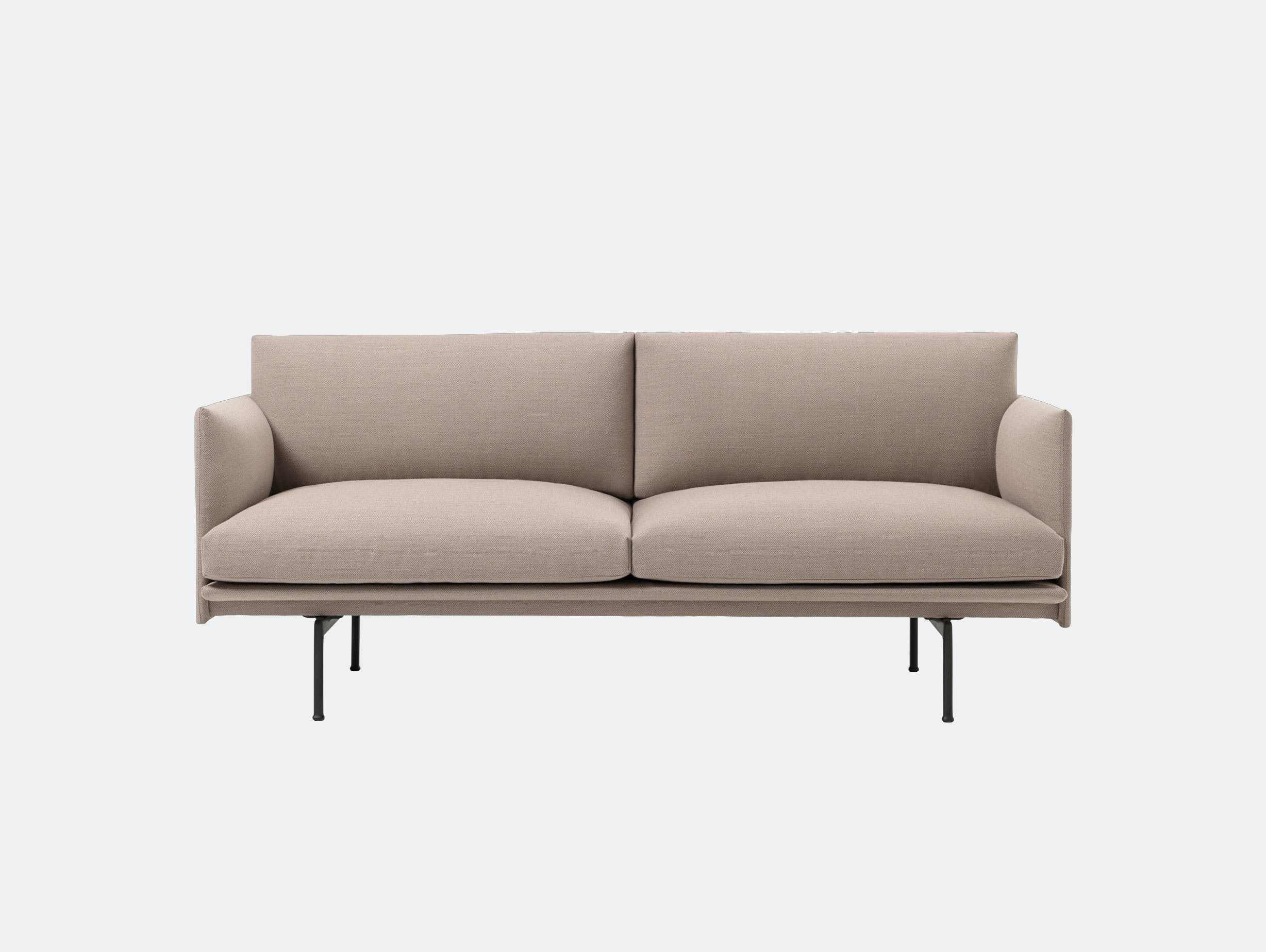 Muuto Outline 2 seater fiord 551 Anderssen Voll