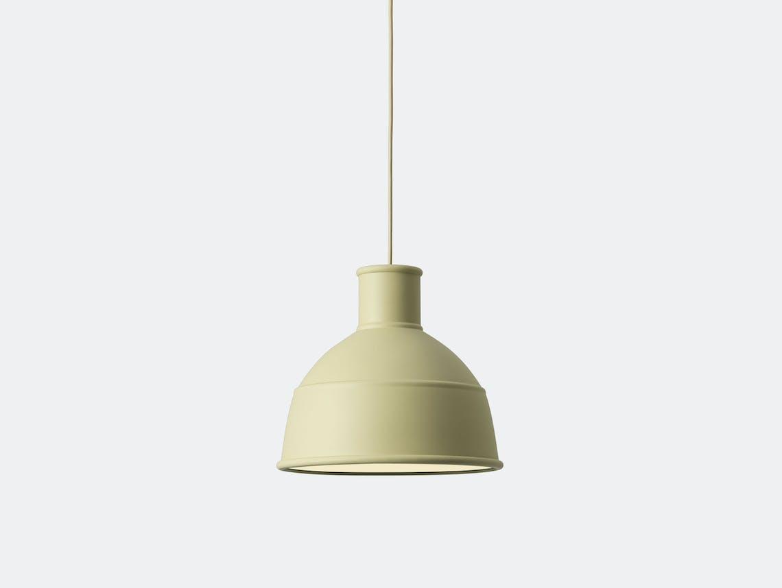 Muuto Unfold Pendant Lamp beige green
