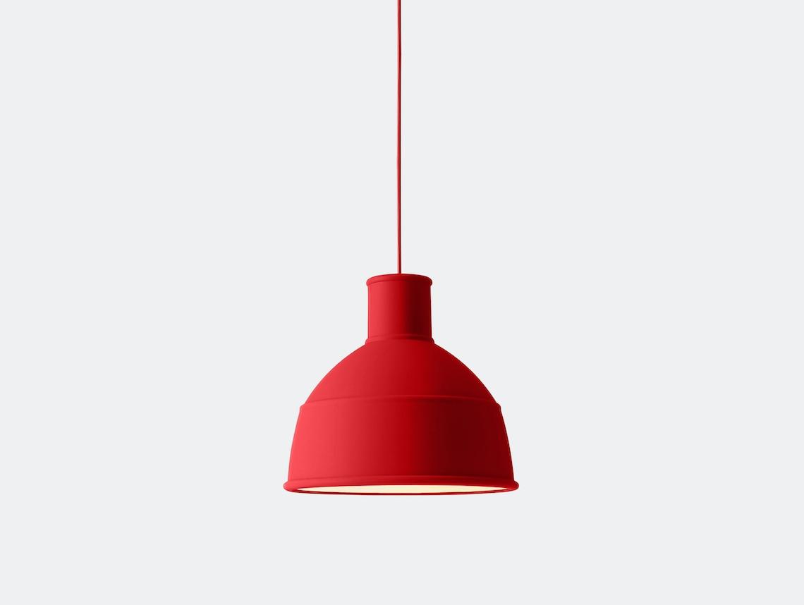 Muuto Unfold Pendant Lamp dusty red