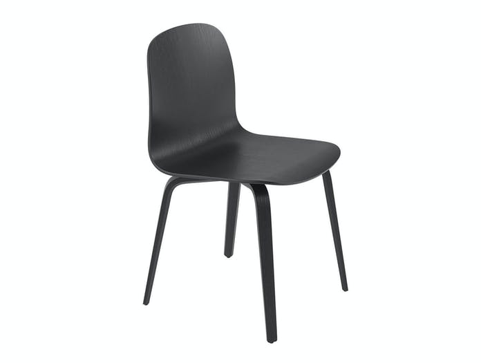 Muuto Visu Chair wood base black