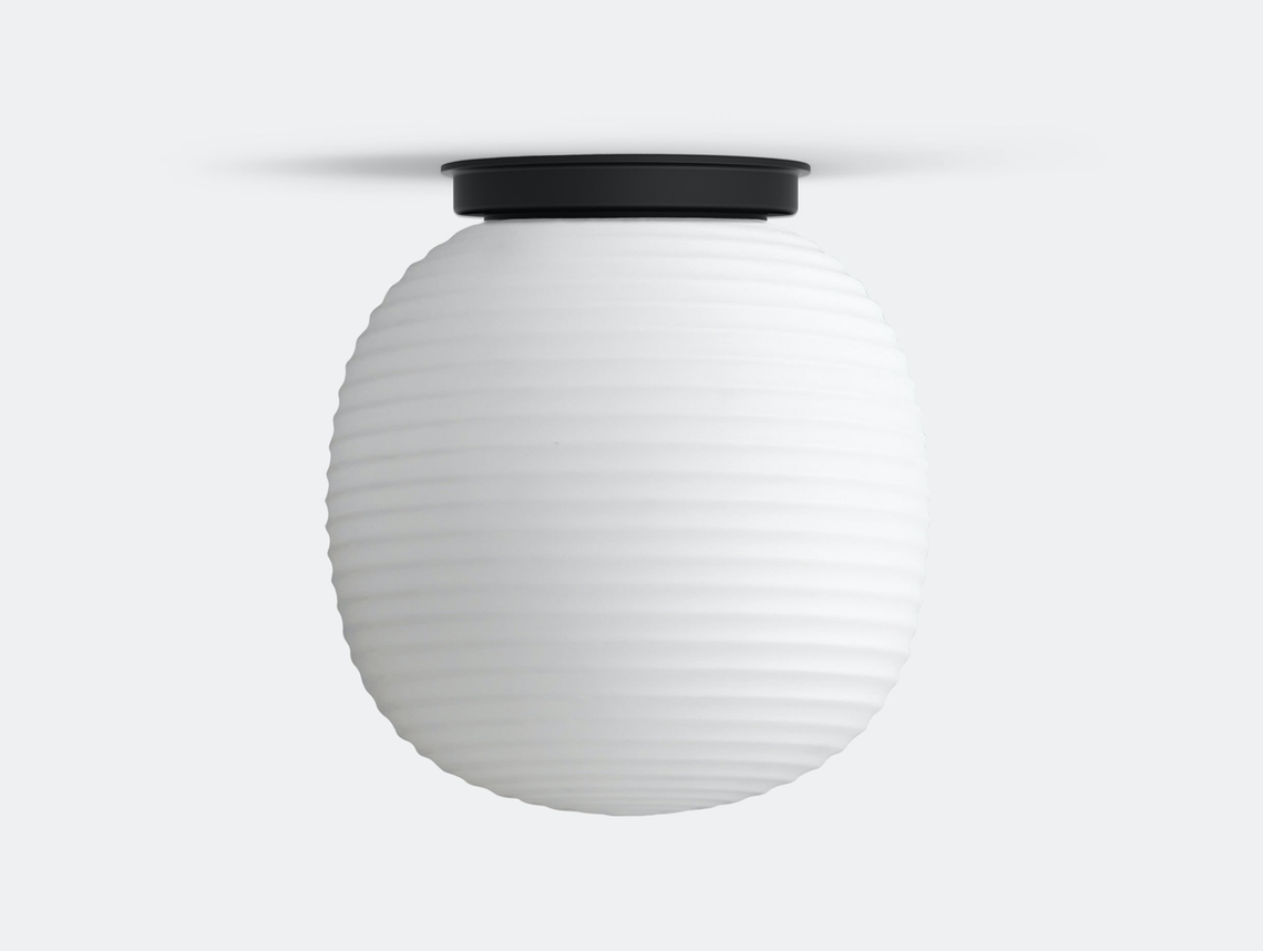 New Works Copenhagen Lantern Globe Ceiling Lamp medium Anderssen Voll