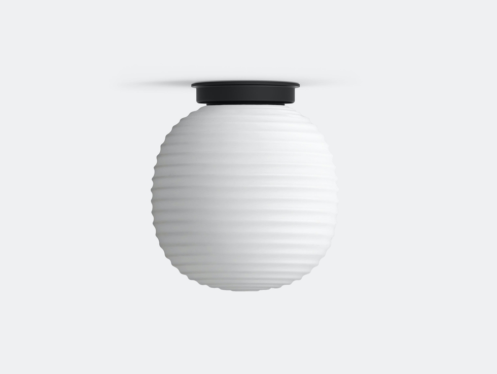 Lantern Globe Ceiling Lamp image