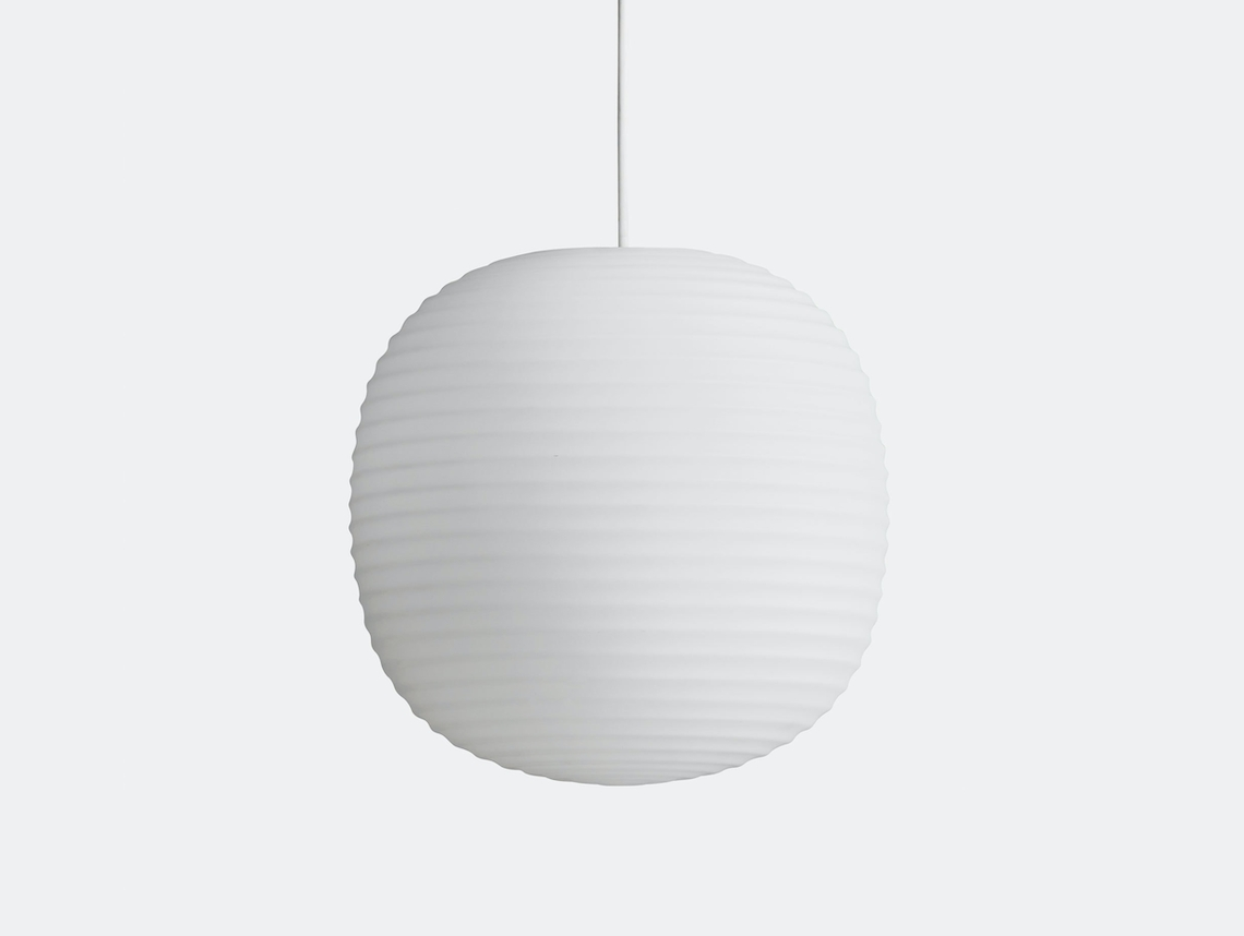 New Works Copenhagen Lantern Pendant Light medium Anderssen Voll