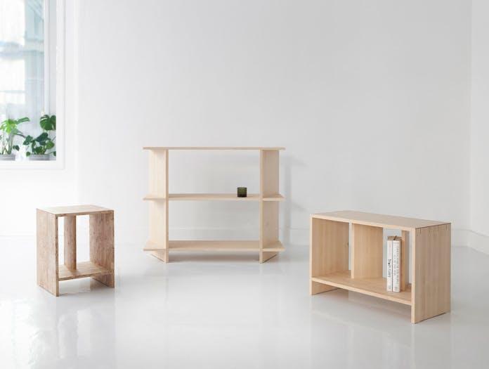 Nikari Arte Osa 1 2 3 shelves Alfredo Haberli