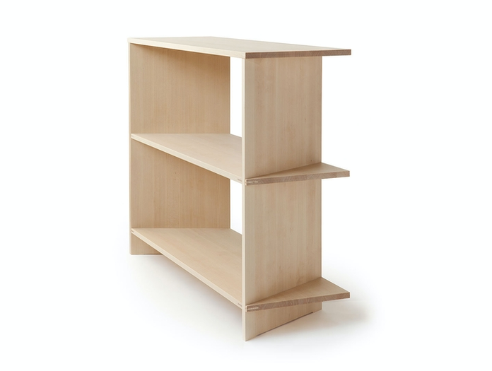 Nikari Arte Osa 3 shelves end detail Alfredo Haberli