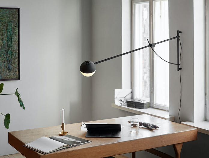 Northern Balancer wall light work desk