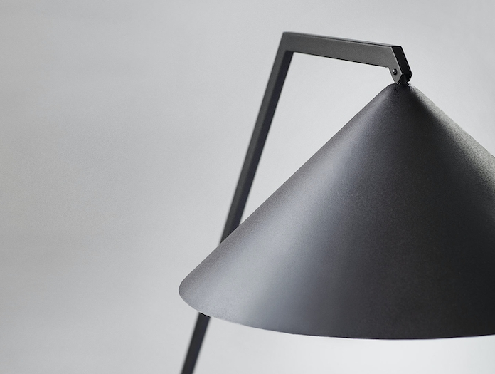 Northern Gear Table Lamp head detail Johan Lindsten