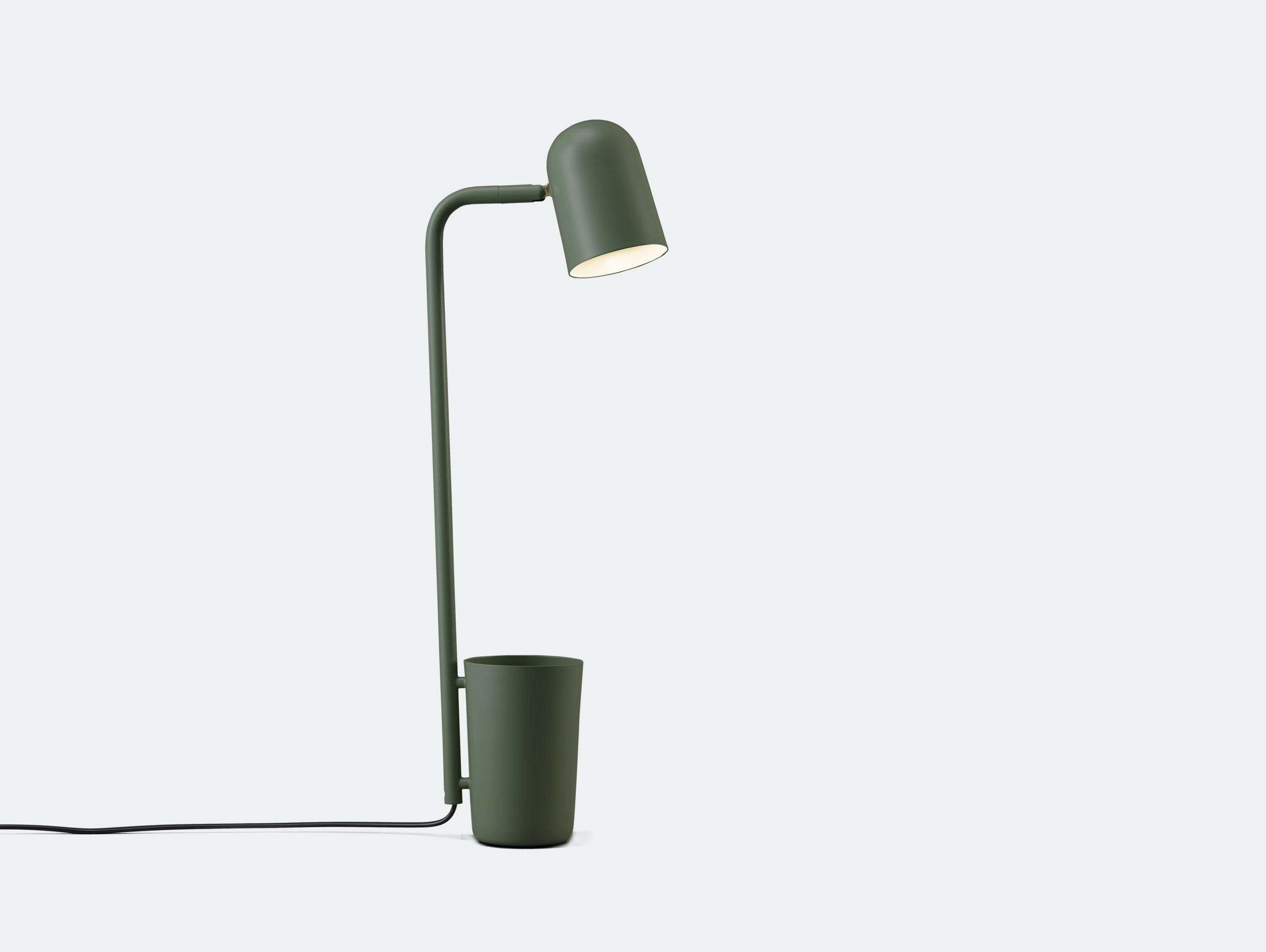 Northern lighting Buddy table light dark green Mads Saetter Lassen