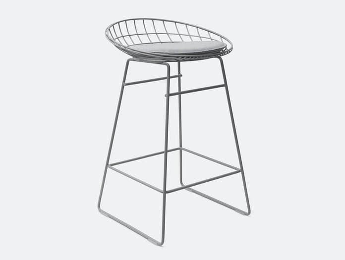 Pastoe KM06 stool grey 1