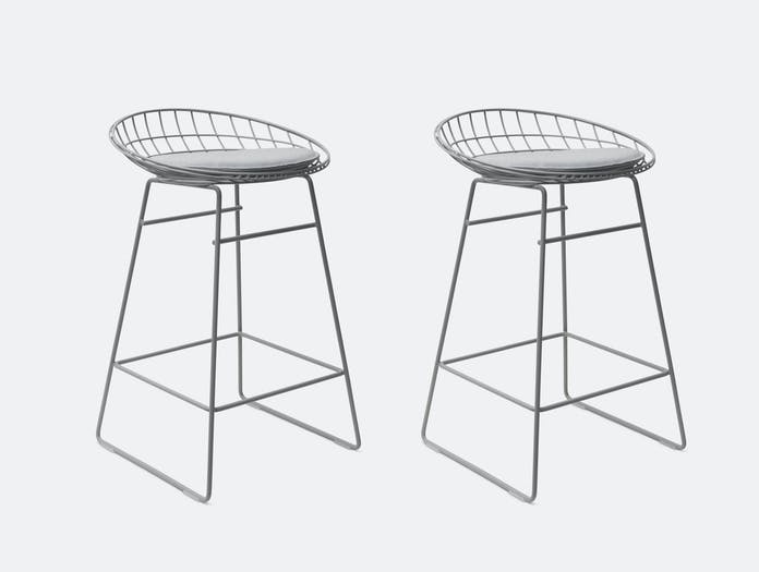 Pastoe KM06 stool grey 2